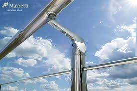 corrimano per esterno ringhiere in metallo per esterni in acciaio inox di marretti scale