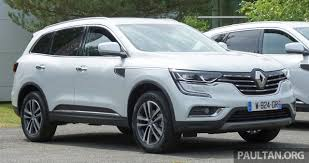 koleos renault 2018 2016 renault koleos malaysian debut in september