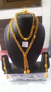 gold plated necklace wholesale images Buy african gold jewelry 2 layered necklace set gold plated jpeg