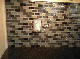 How To Tile A Kitchen Backsplash How To Tile A Kitchen Backsplash With Glass Tiles All Home