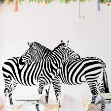 Animal Print Wall Decor Zebra Wall Decals Roselawnlutheran