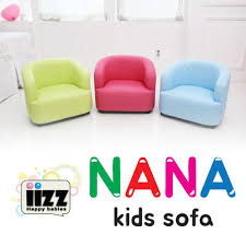 kids sofa couch qoo10 iizz nana kids sofa sofa baby sofa furniture korea hit