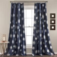 iron gate window curtain pair