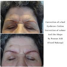 fixedmakeup ca fixing a bad shaped eyebrow tattoos or colour