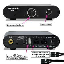 orb home theater mini t amplifier orb audio