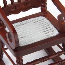 Rocking Horse High Chair Amazon Com 1 12 Dollhouse Miniature Rocking Chair Model Brown