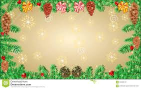 merry frame of the branches tree with ribbon
