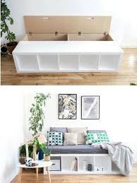 Ikea Daybed Hack 7 Best Kallax Bed Hacks Images On Pinterest Bed Ikea Storage