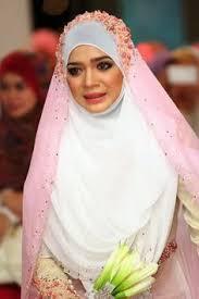 tutorial hijab syar i untuk pengantin cantik berhijab syar i dress kebaya pernikahan syar i pinterest