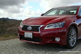 lexus rx 450h software update review 2014 lexus gs 450h the truth about cars