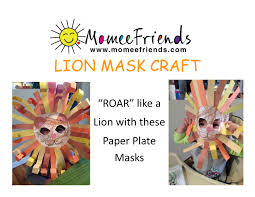 lion mask craft lion mask craft momeefriendsli