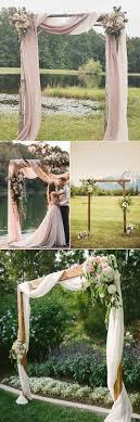 wedding arch garland garden wedding decoration ideas masterly image on outdoor wedding