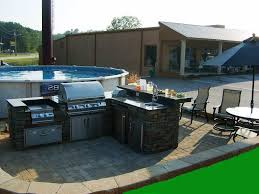 backyard kitchen ideas simple outdoor kitchen subway tile backsplash awesome best kitchen