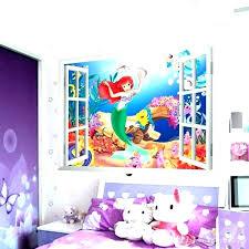 little mermaid bedroom little mermaid wall decor hsfurmanek co