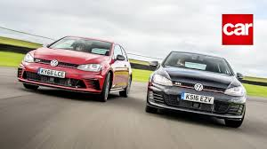 vw golf track battle gte vs gtd gti vs edition 40 r vs clubsport s