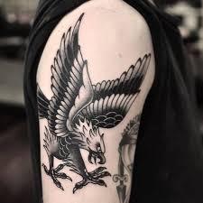 best trending eagle tattoos on shoulder the ask idea