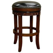 Leather Swivel Bar Stool Bar Stool Backless Bar Stool Seat Cushion Backless Swivel Bar