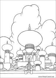 drawings paint u0026 colour aladdin print design 031