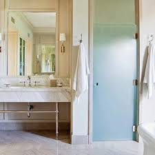 Frosted Glass Bathroom Doors by Frosted Glass Bathroom Door Design Ideas