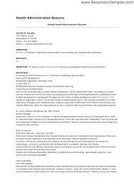 healthcare administrator resume u2013 jalcine me