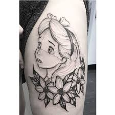 alice in wonderland tattoos pictures to pin on pinterest