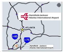 atlanta international airport map emory transportation and parking services