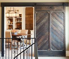 wrought iron grill home office traditional with barn door hardware