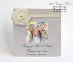 of honor asking ideas of honor picture frame ask thank you matron