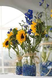 sunflower wedding decorations sunflower wedding centerpieces wedding photography