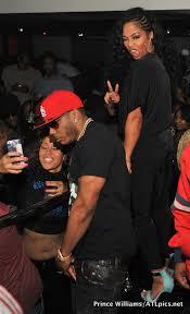 nelly u0026 girlfriend tae heckard party at compound nightclub in