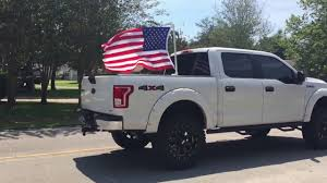 Truck With Rebel Flag Flags For Truck Beds How To Fly A Flag From A Truck Bed