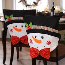 mr snowman plush chair covers set of 2 chair covers snowman