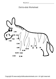animals dot to dots worksheets page 5