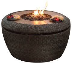 Starfire Fire Pits - agio jefferson gas fire pit tropical fire pits by starfire