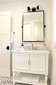 Vintage Modern Bathroom Black And White Modern Bathroom The House Of Silver Lining