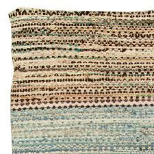 Tied Rag Rug Vintage American Rag Rug Bb6147 By Doris Leslie Blau