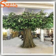 factory price of big project trees realistic size make