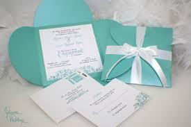 engagement party invitations aqua blue turquoise gift