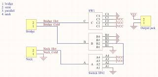 wiring schematic for rotary switch talkbass com