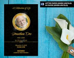 paper for funeral programs funeral program template poppy flower watercolor funeral