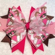 tulle hair bows stacked pinwheel hair bows angie s bows and more