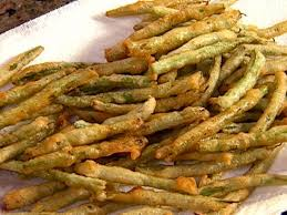 fried green beans recipe the neelys food network