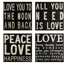 wood plaques with sayings collier black and white quotes wood