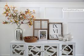Home Table Decor by Mirrored Console Table Ready For Fall The Sunny Side Up Blog