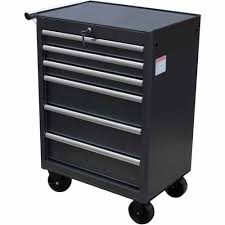 Tool Cabinet On Wheels by Wen 26