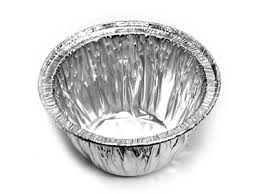 foil container mini pudding basin bowl confoil