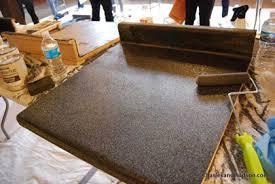 diy kitchen countertops ideas resurfacing laminate countertops with rust oleum bob vila