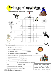 best 25 halloween crossword puzzles ideas on pinterest halloween