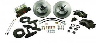 1966 mustang disc brakes 1965 1966 mustang 6 cylinder 4 lug front disc brake conversion kit