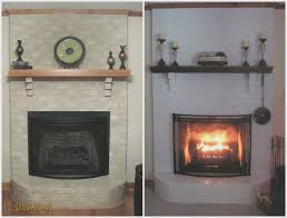 fireplace fresh painting fireplace bricks home design new modern